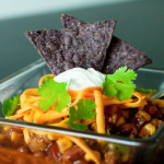 Fall is here! Tasty taco soup
