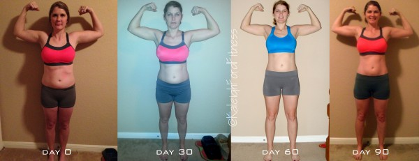 P90X3 90 Day Results