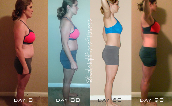 P90X3 & Shakeology 90 Day Results